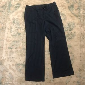 New York & company stripped dress pants